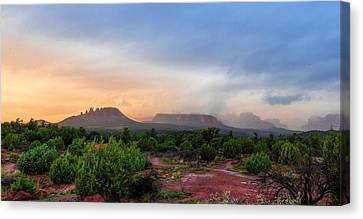 Sedona Showers Canvas Print