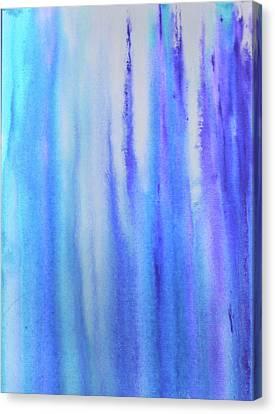 See Blue Sea Canvas Print by Cyrionna The Cyerial Artist