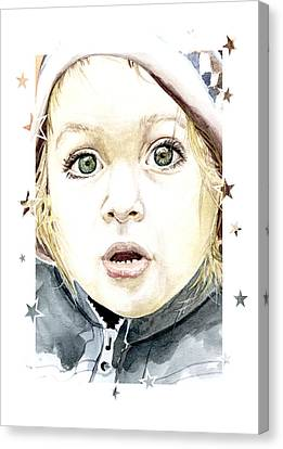 See The World Through My Eyes  Canvas Print by Alban Dizdari