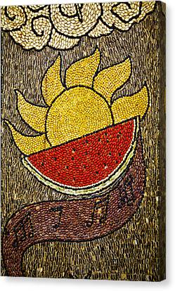 Seed Art Canvas Print
