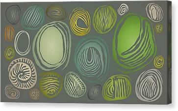 Seed Pebbles Canvas Print