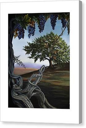 Seeds Of Eden Canvas Print by Kathleen Romana