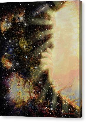 Seeing Beyond 2 Canvas Print by Graham Braddock