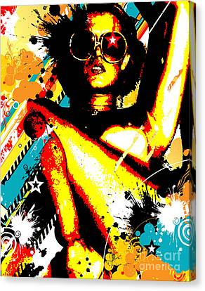 Seduction Canvas Print - Seeing Stars by Chris Andruskiewicz