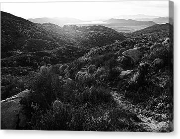 Seeing The Big Picture Canvas Print by Glenn McCarthy