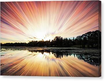 Canvas Print - Seeleys Bay Explosion by Matt Molloy