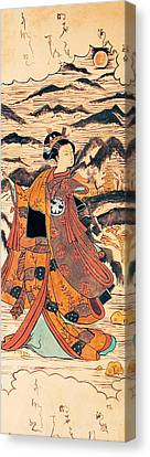 Segawa Kiyomitsu Canvas Print by Carrie Jackson