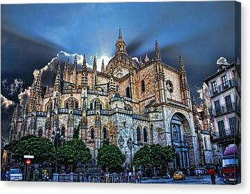 Segovia Cathedral  Canvas Print