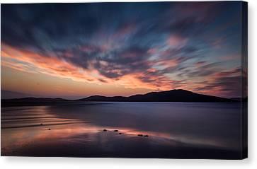 Seilebost Sunset Canvas Print