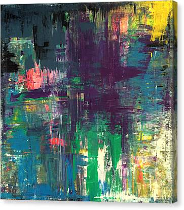 Seize The Day 48x48 Print Abstract Painting Modern Art Original Canvas Print by Robert R Splashy Art Abstract Paintings