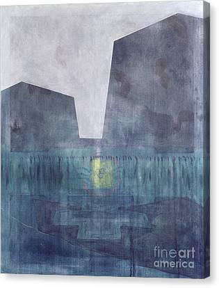 African Violets Canvas Print - Selassie Monoliths by Charlie Millar