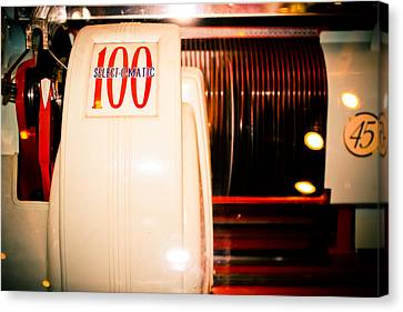 Select-o-matic 100 Canvas Print by Colleen Kammerer