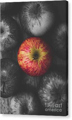 Selective Colour Still Life Fruits Canvas Print by Jorgo Photography - Wall Art Gallery