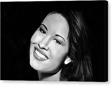 Selena Canvas Print by Brian Broadway