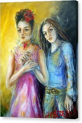 Self Canvas Print by Heather Calderon