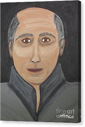 Canvas Print featuring the painting Self by Jeffrey Koss