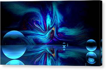 Inner Reality Canvas Print - Self Omnipresence by River Ivanova