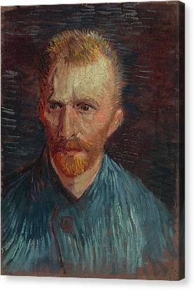 Van Goghs Ear Canvas Print - Self-portrait-1 by Vincent van Gogh