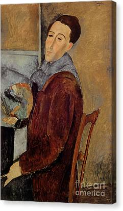 Self Portrait Canvas Print by Amedeo Modigliani