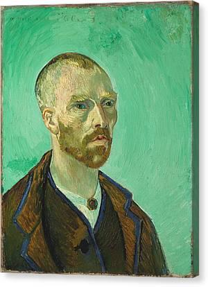 Self-portrait Dedicated To Paul Gauguin, 1888 Canvas Print