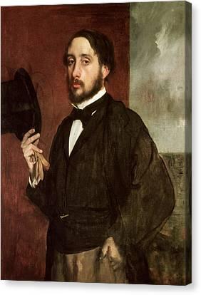 Self Portrait Canvas Print by Edgar Degas