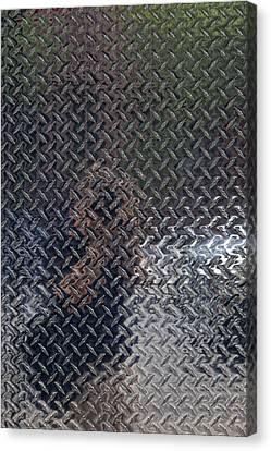 Self Portrait In Steel Canvas Print