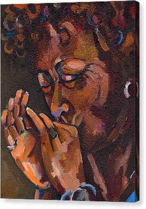 Self Portrait Canvas Print by Jackie Merritt