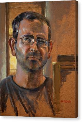 Self Portrait November 2015 Canvas Print