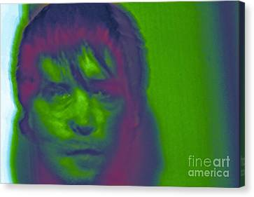 Canvas Print featuring the photograph Self Portrait Number 1 by Xn Tyler