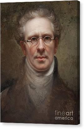 Self Portrait Canvas Print by Rembrandt Peale