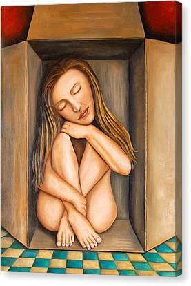 Self Storage Canvas Print by Leah Saulnier The Painting Maniac