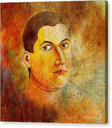Selfportrait Oil Canvas Print