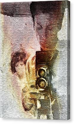 Selfportraiting Canvas Print
