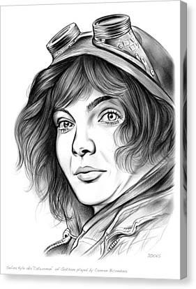 Selina Kyle Canvas Print by Greg Joens