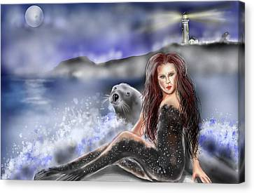 Selkie Canvas Print by Rob Hartman