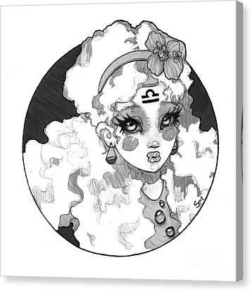 Sembabyface Libra Canvas Print
