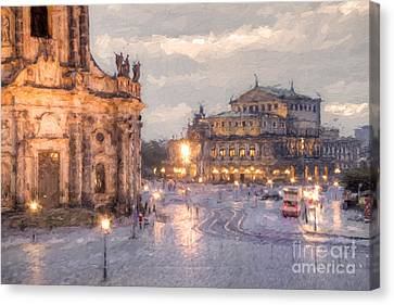 Dresden Canvas Print by Julie Woodhouse