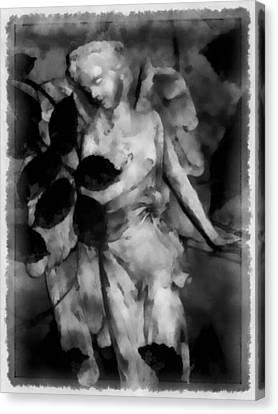Send Me An Angel Canvas Print by Angelina Vick