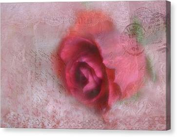 Canvas Print featuring the photograph Send With Love 2 by Diane Alexander