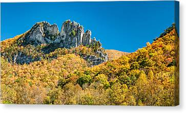 Seneca Ridge Canvas Print by Steve Harrington