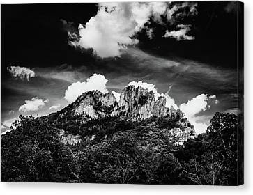 Canvas Print featuring the photograph Seneca Rocks II by Shane Holsclaw