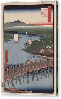 Bridge Of Senju Canvas Print