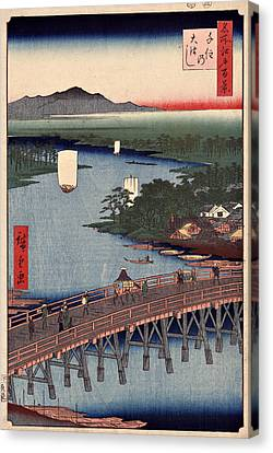 Senju No Oubashi Canvas Print by Ricky Barnard