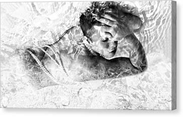 Sensation Canvas Print by Jessica Shelton