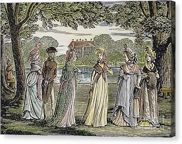 Sense & Sensibility, 1811 Canvas Print by Granger