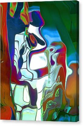 Sentinel Canvas Print by Alika Kumar