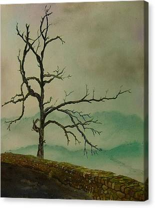 Sentinel Of The Shenandoah  Canvas Print