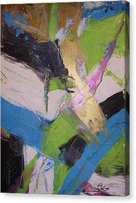 Sentirme Vivo - To Feel Alive Canvas Print