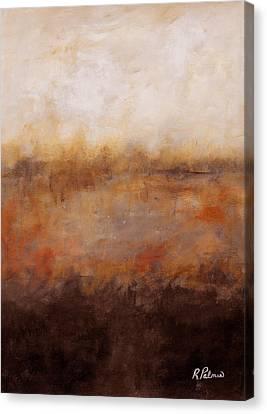Sepia Wetlands Canvas Print by Ruth Palmer