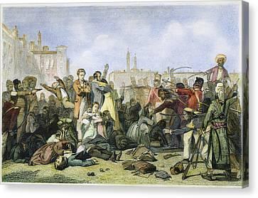 Sepoy Mutiny, 1857 Canvas Print by Granger